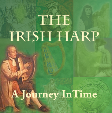 CD Cover for The Irish Harp a journey in time